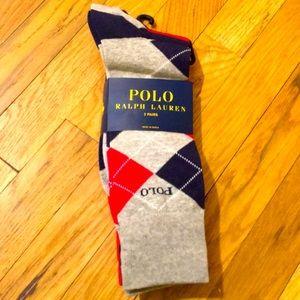 Ralph Lauren men 3 pairs